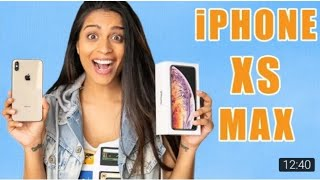 Lilly Singh UnboXing The New IPhone XS MAX/Hands on Review/Camera