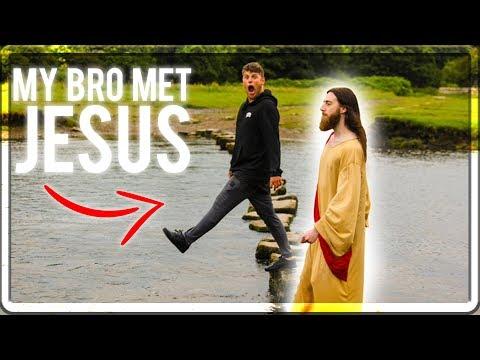 MY BRO MET JESUS! - PRANKMAS