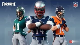 Fortnite x NFL ( Leaked Skins and Emotes in Trailer)