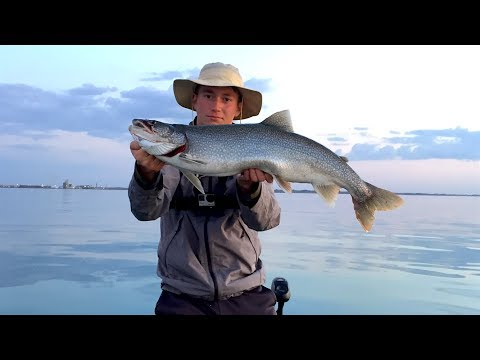 Indiana Lake Michigan Lake Trout Fishing
