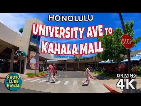University Ave To Kahala Mall