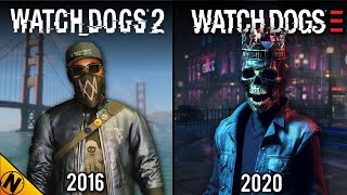 Watch Dogs: Legion vs Watch Dogs 2 | Direct Comparison