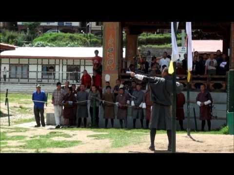 Archery Bhutan National Sport Thimphu Bhutan 2013 15