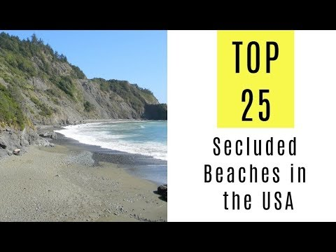 Top 25 Secluded Beaches in the USA