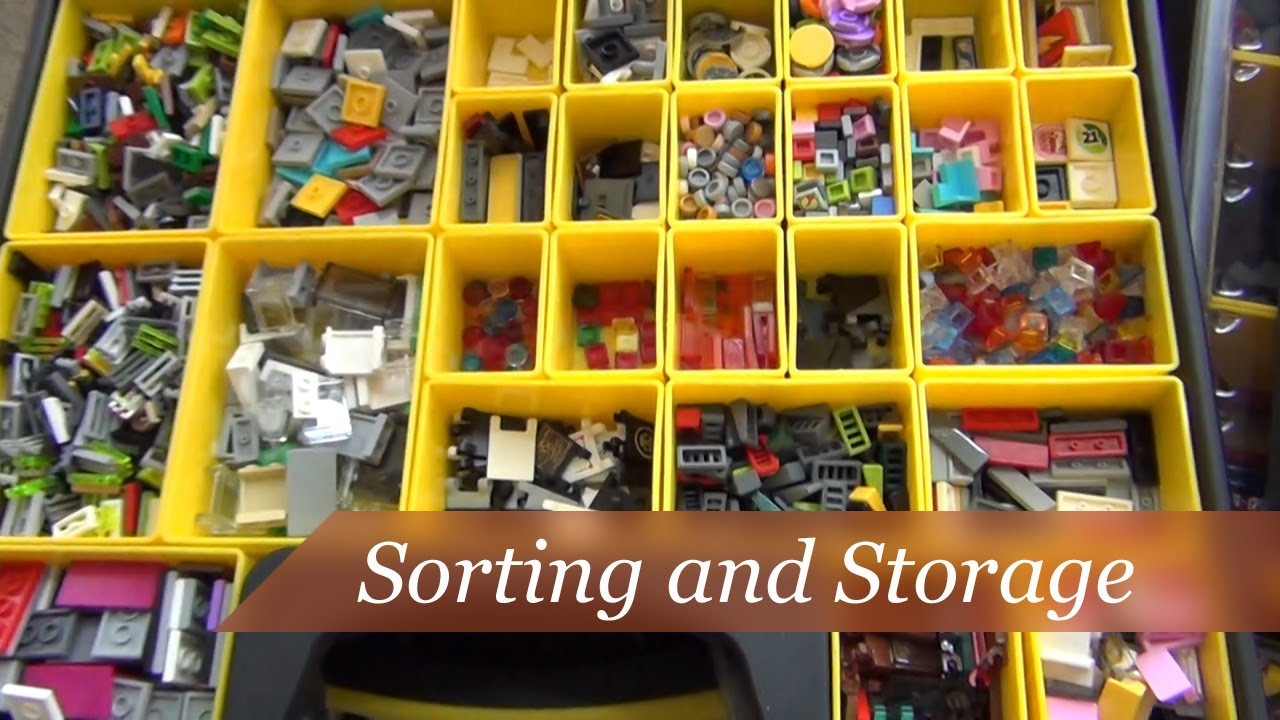 How To Sort And Store Your Lego Collection
