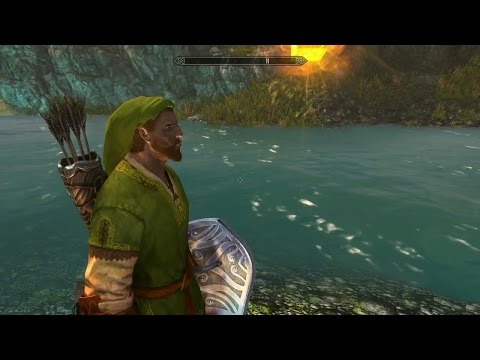 Skyrim mod of the day: The Temple Of Time; Kokiri's Valley