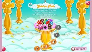 Candy Crush Saga - Golden Path Levels 1- 5