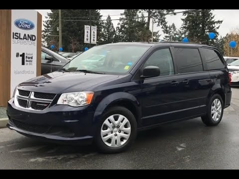 2014 Dodge Grand Caravan SXT W/ Keyless Entry, Stow N Go Review| Island Ford