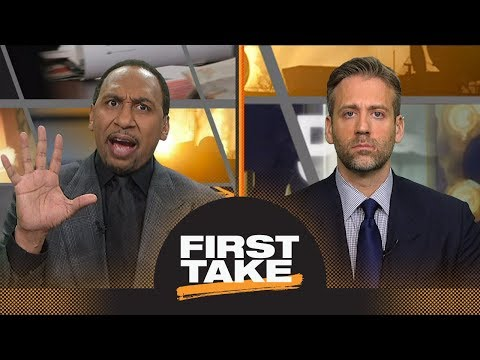 Stephen A. And Max Debate Steelers' No-catch Against Patriots | First Take | ESPN