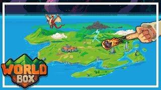 SOY DIOS Y CREO CIVILIZACIONES... y las destruyo - WORLD BOX Gameplay Español