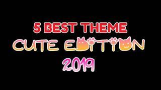 5 Best Cute Theme (Part1) PERMANENT   OPPO   REALME