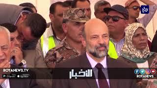 رئيس الوزراء يضع حجر الأساس للمستشفى العسكري - (25-7-2018)