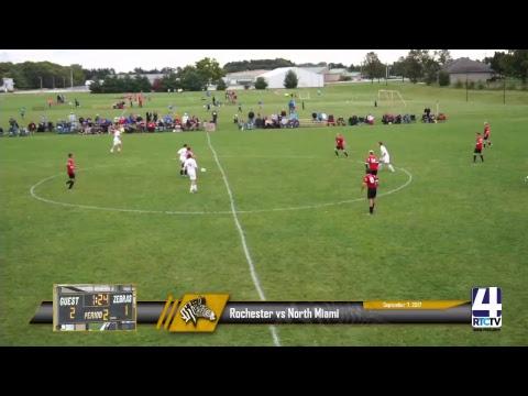 Rochester Boys Soccer vs North Miami 09-07-17