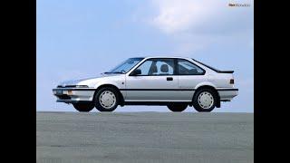 1985-1986 Honda Quint Integra Cm Japan
