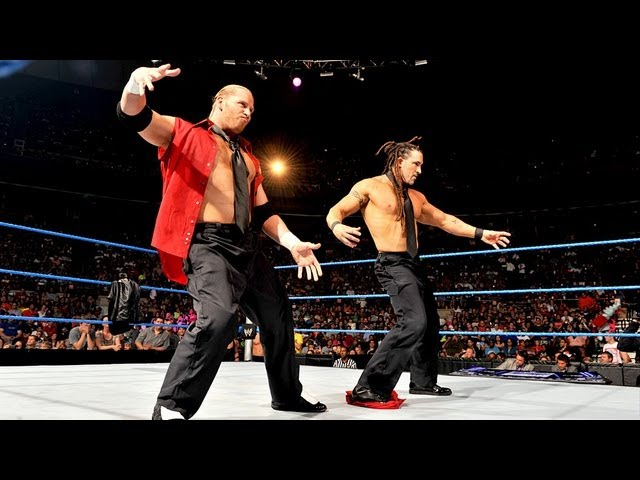 Curt Hawkins & Tyler Reks vs. local athletes: SmackDown
