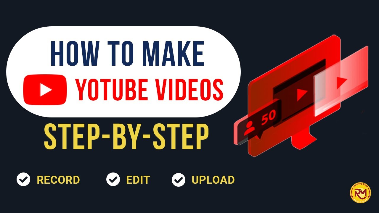 How to Make YouTube Videos for Beginners | Low Budget Setup
