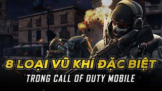 8 loại vũ khí đặc biệt trong Call of Duty Mobile VN