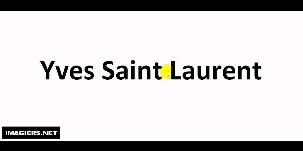 pick up 81a90 d4ff6 発音 = Yves Saint Laurent