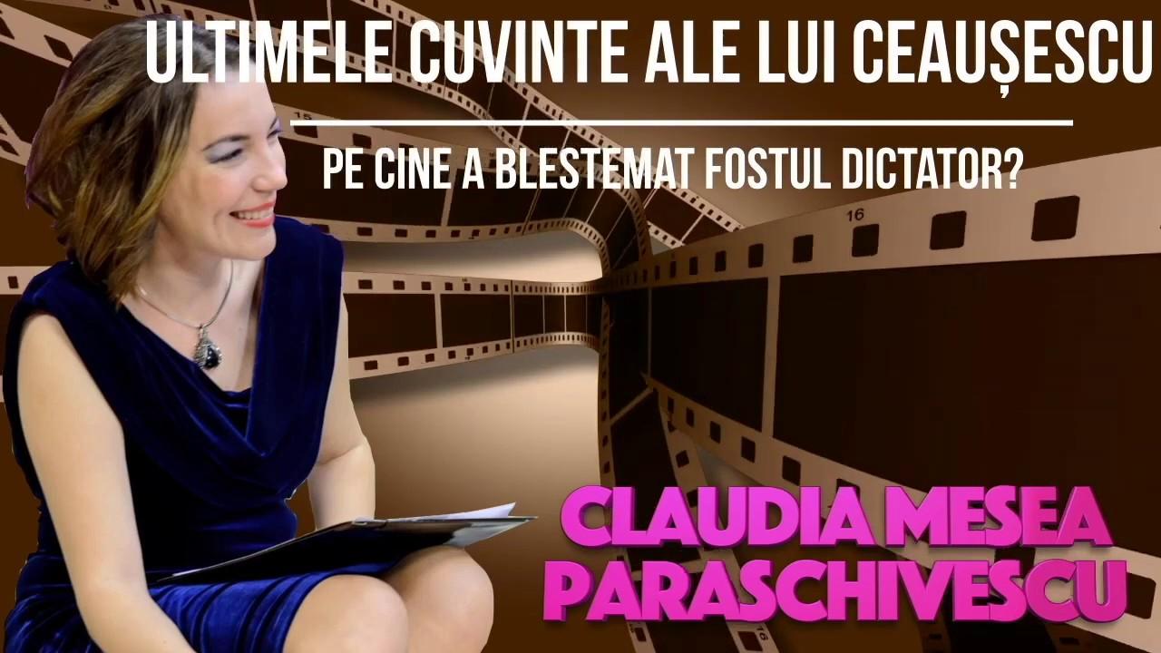 Ultimele Cuvinte Ale Lui Nicolae Ceausescu, Pe Cine a Blestemat Fostul Presedinte