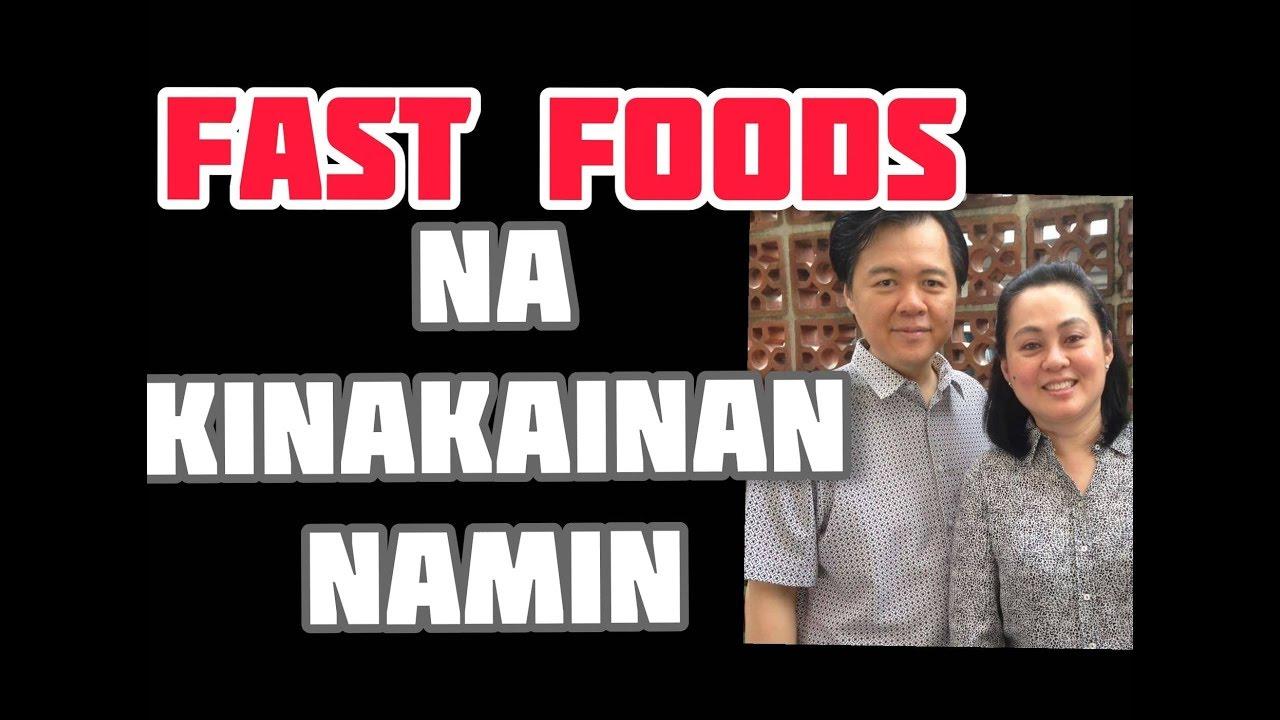 Fast Foods na Kinakainan Namin - Payo ni Doc Willie Ong # 793
