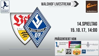 14.Spieltag: VfB Stuttgart II - SV Waldhof