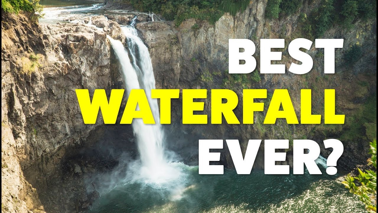 The Amazing Snoqualmie Falls & a Rocking Beach Picnic