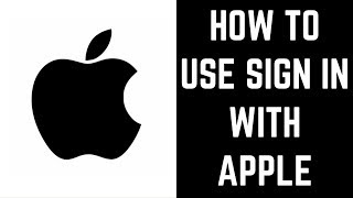 Gambar cover How to Use Sign in With Apple