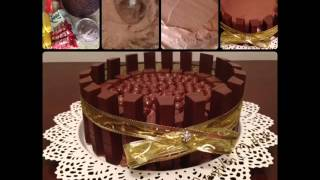 çikolatalı muzlu yaş pasta yapımı