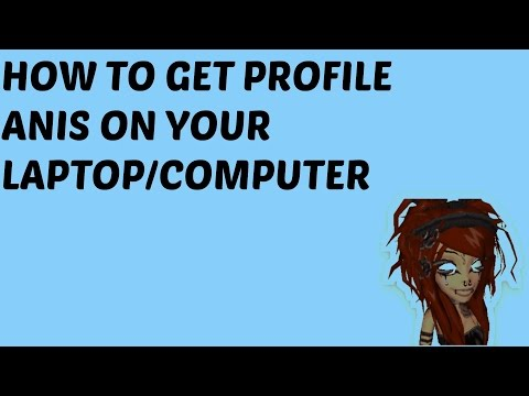 How to get profile animations on laptop/pc (meez)