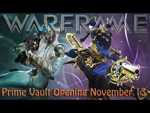 Warframe - Prime Vault Opening November 13 thumbnail