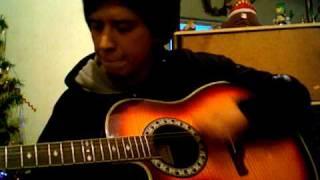 初めて耳コピーした歌。ギターは始めたばっかなので、厳しく否定しない...