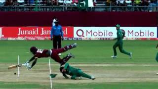Ahmed Shehzad Serious Injured During Pakistan Vs West Indies 2017