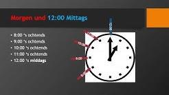 Niederländisch Lernen: Lektion 19A die Uhrzeit