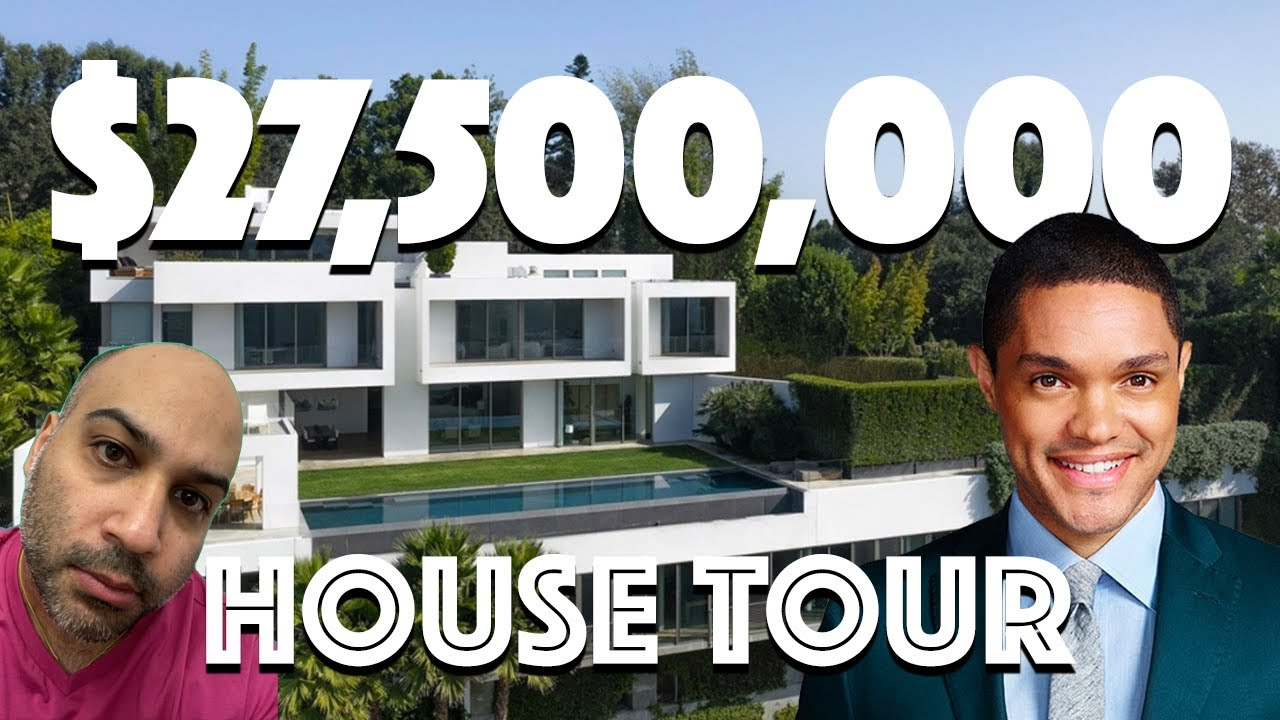 Daily Show Host Trevor Noah Buys New Bel Air Home For $27.5 Million | Celebrity Home Shopping