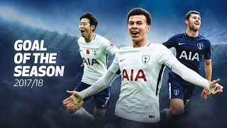 GOAL OF THE SEASON 2017/18! VOTE NOW!