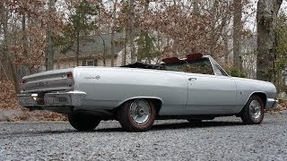 1964 Chevelle SS Convertible For Sale~454~Silver/Red~Just Restored!!
