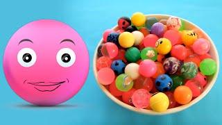 Bu Kasede Kaç Tane Pembe Top Var? | #Renkleri Öğreniyorum