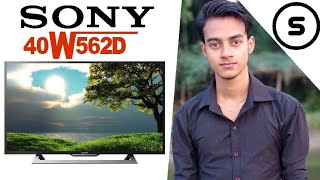 Unboxing of Sony Bravia KLV 40W562D Internet Tv.
