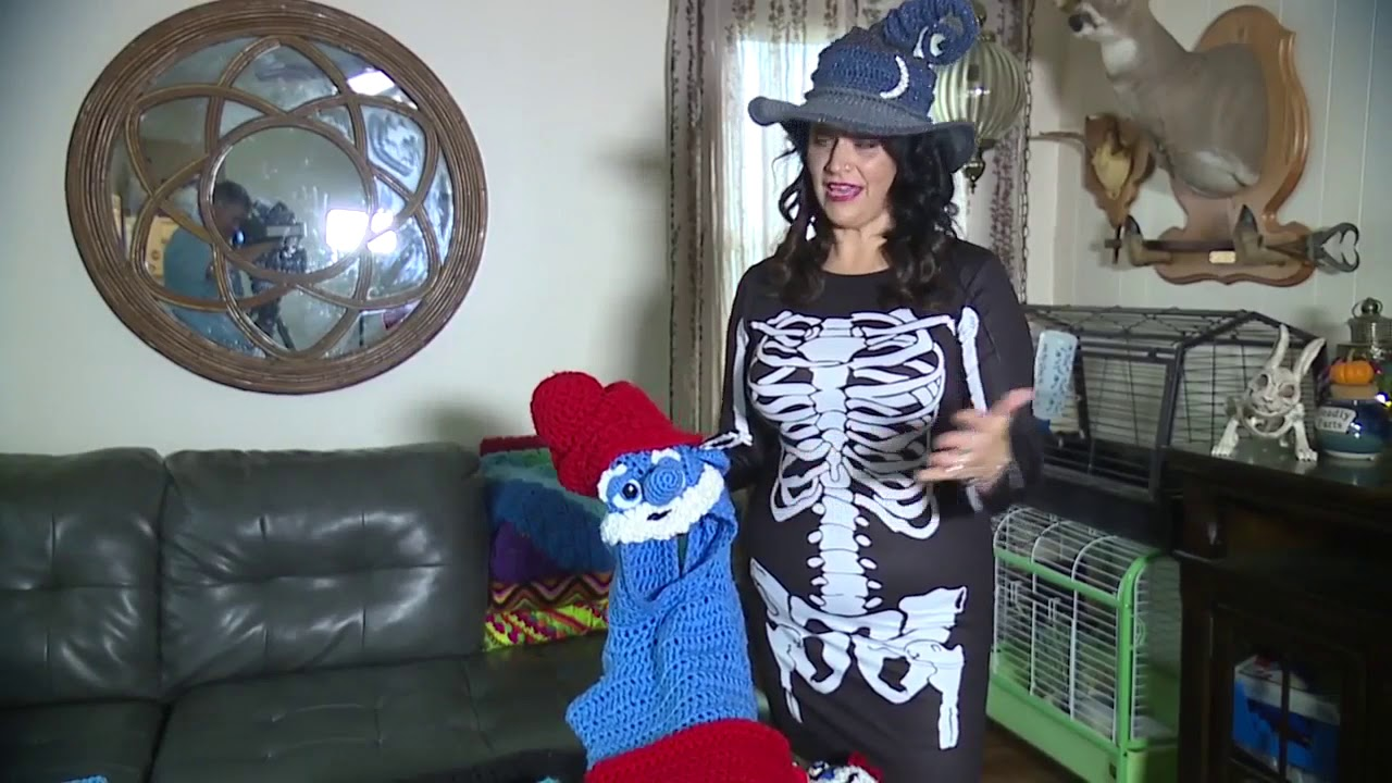 Mentor Mother Goes Viral With Hand Crocheted Halloween Costumes