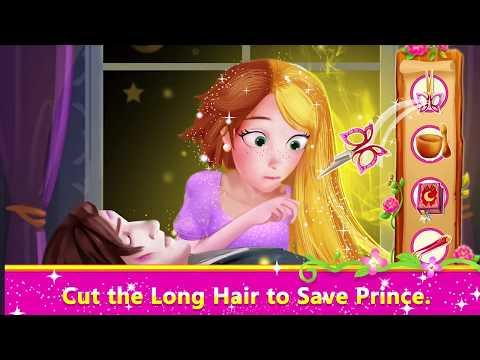 Long Hair Princess Prince Rescue Youtube