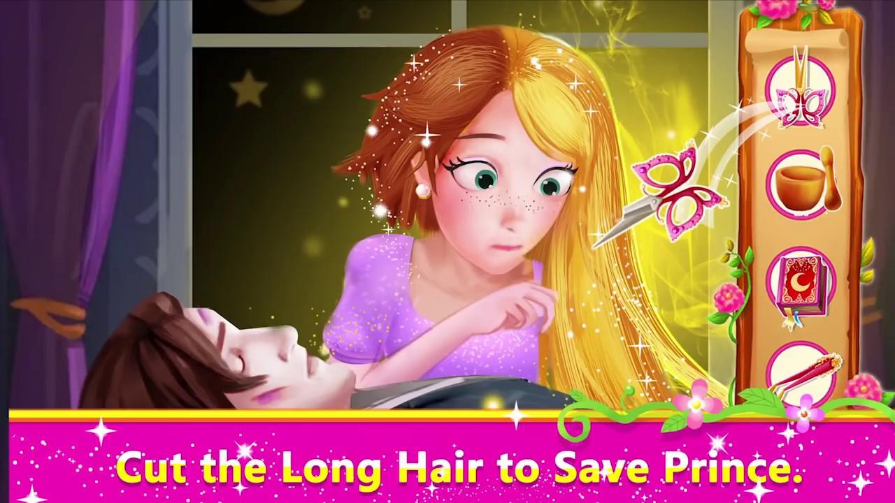 Long Hair Princess Prince Rescue