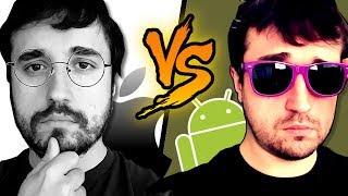ANDROID VS iPHONE! - Coisas que o iOS não tem.