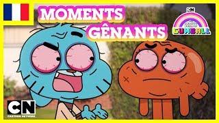 Le Monde Incroyable de Gumball en français 🇫🇷 | Les PIRES moments gênants !