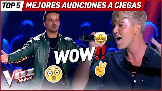 MOST AMAZING Blind Auditions in La Voz