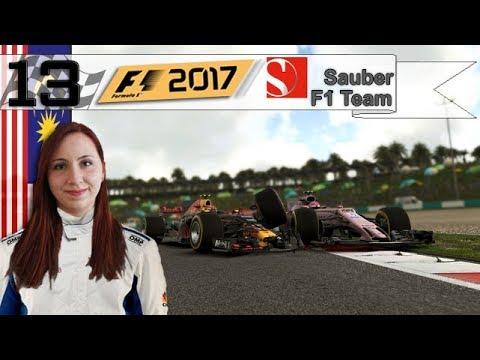F1 2017 - CARRIERE - LES JEUNES SE CHAMAILLENT (S1 #13)