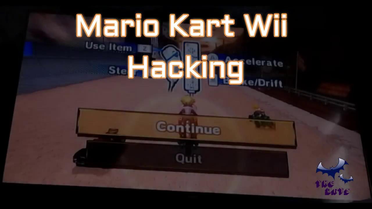 Mario Kart Wii Gecko Code Hacking Thebats Youtube