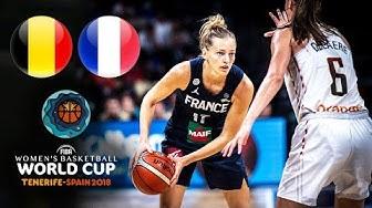 🔴 - Belgium 🇧🇪 v France 🇫🇷 - Classic Full Games | FIBA Women's Basketball World Cup 2018