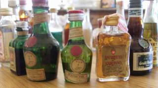 Miniature Liquor Bottles For Sale