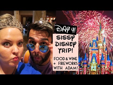 SISTER DISNEY TRIP 2017 DAY 4: 🎆 FIREWORKS WITH ADAM! 🎆| Gillian At Home