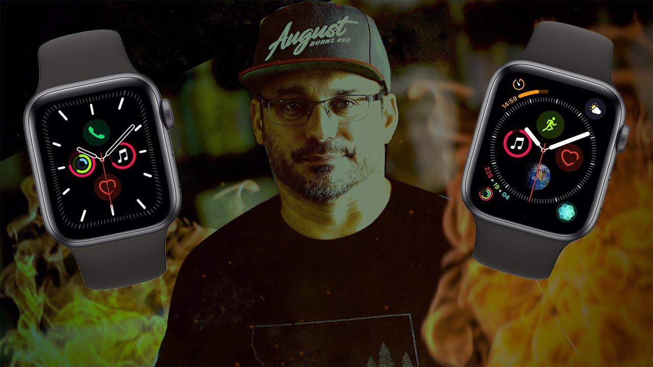 Apple Watch 5 vs Apple Watch 4 - Should You Upgrade?